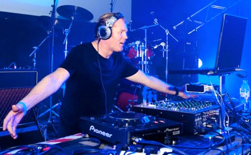 Rusty Egan, DJ, Nassau Beach Club, Ibiza