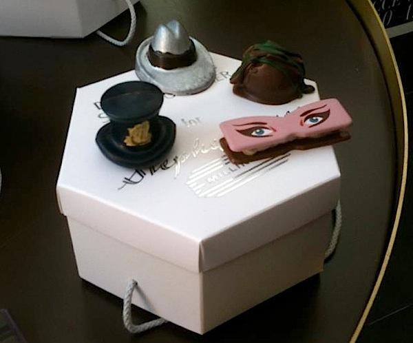 Stephen Jones, hats