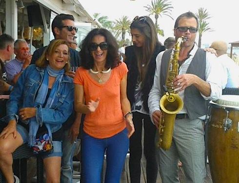 Nassau Beach Club, Steve Norman, Ibiza,performance