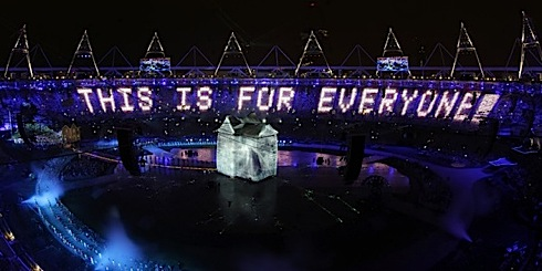 The mighty tweet: Tim Berners-Lee's message to the world at the Olympics