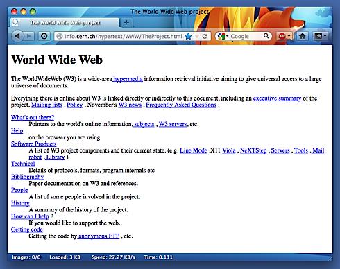 CERN, firsts, website, worldwideweb,