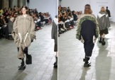Xu Yuan Xin: oversized silhouettes, inspired by industrial workwear and sportswear