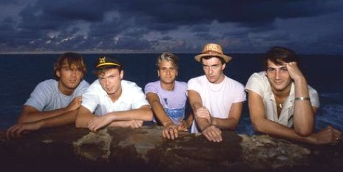 Spandau in the Bahamas, 1982: Martin, Gary, Steve, John and Tony. © Lynn Goldsmith/Corbis