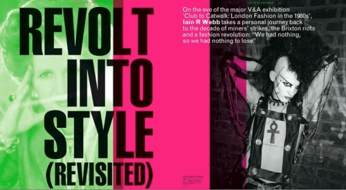 V&A Magazine summer issue: the 80s deconstructed by Iain R Webb