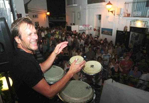 Electronic Beach Club, Rusty Egan, Steve Norman, Ibiza, El Brasero