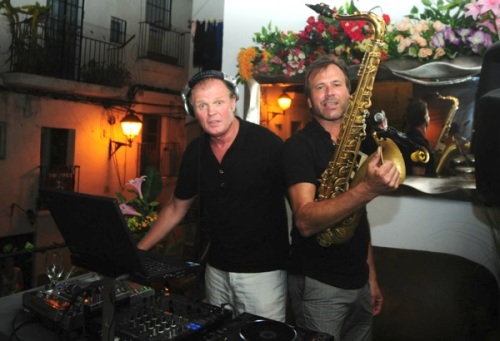 Electronic Beach Club, Steve Norman, Rusty Egan, Ibiza,