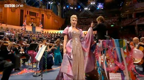 Proms,Joyce DiDonato ,Vivienne Westwood
