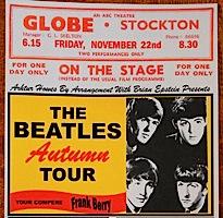 Beatles, UK tour, 1963, Globe theatre, Stockton-on-Tees,