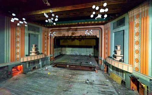 Globe theatre, Stockton-on-Tees,