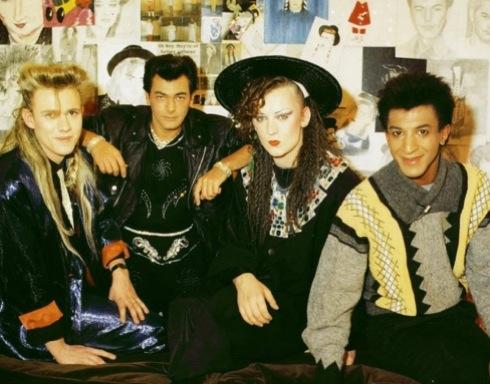 Culture Club, 1982,Mikey Craig, Roy Hay, Jon Moss, Boy George, pop music