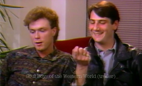 Soul Boys of the Western World, Spandau Ballet, trailer, SWSW, premiere,biopic, pop music, New Romantics, Blitz Kids,Gary Kemp, Tony Hadley
