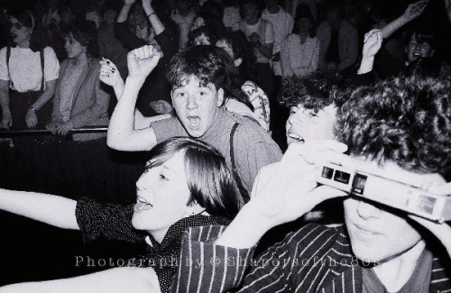 Spandau Ballet, Blitz Kids, New Romantics, Liverpool Empire, 1982, Diamond Tour, Martin Kemp, fans, Gary Kemp,Steve Norman, Tony Hadley, Peter Capaldi
