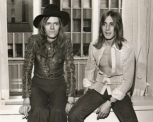 David Bowie, Mick Ronson, 1971,