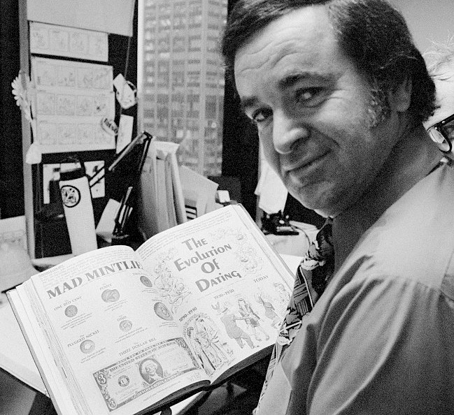 Al Feldstein , Mad magazine, Alfred E Neuman , comics, satire, American Dream,