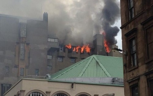 Glasgow School of Art, fire, Charles Rennie Mackintosh,