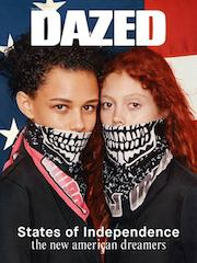 Dazed magazine, Binx Walton , Natalie Westling ,autumn collections ,