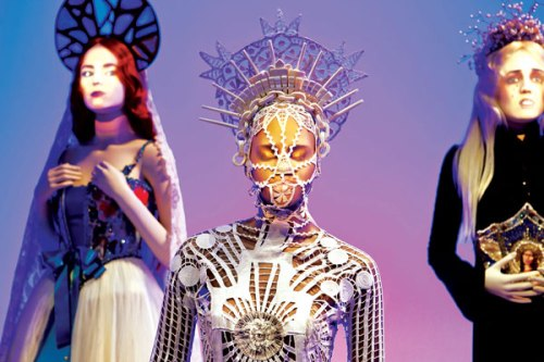Fashion , Jean Paul Gaultier, Sidewalk to the Catwalk London, Barbican Art Gallery, exhibition, Eurotrash, reviews,