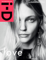 Sasha Pivovarova, i-D, magazine, 2014, fashion