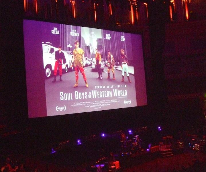 Spandau Ballet, Soul Boys of the Western World, premiere
