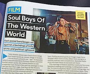 Spandau Ballet, Soul Boys of the Western World,