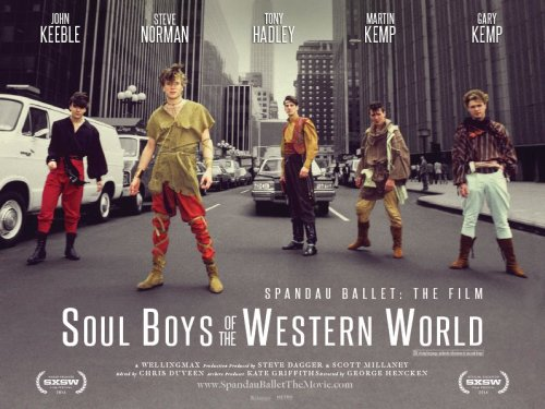 pop music, George Hencken, Tony Hadley, Spandau Ballet, Soul Boys of the Western World, movie, biopic,New Romantics, Blitz Kids