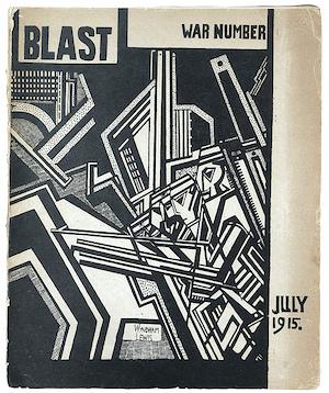 vorticism, Blast, magazine,