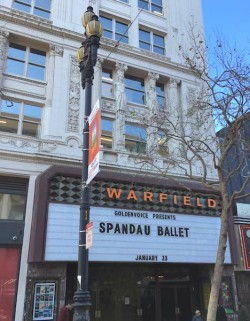 Spandau Ballet , Soulboys of the Western World, US Tour,