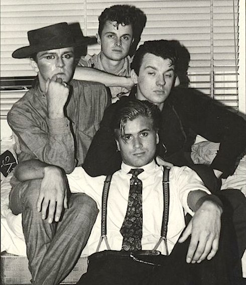 Steve Strange, Chris Sullivan, Graham Smith, Steve Norman, Blitz Kids, Swinging 80s, London