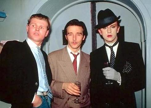 Steve Strange, Stephen Harrington, Blitz Kids, New Romantics, nightclubbing, Swinging 80s, London, fashion, pop music, Midge Ure, Rusty Egan