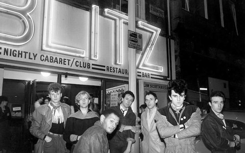 Visage ,Blitz Club,Steve Strange ,Blitz Kids, New Romantics, nightclubbing, tributes