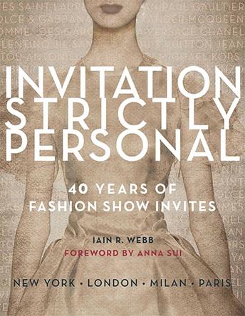 Iain R Webb, book , Invitation Strictly Personal,