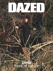 Dazed magazine, summer, Lorde, fashion, girls