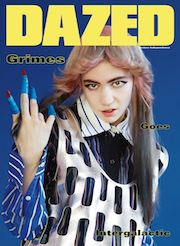 Dazed, magazine, AW15 issue, Grimes, surreal,