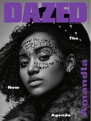 Dazed,magazine, fashion,autumn, agenda-setters ,Amandla Stenberg