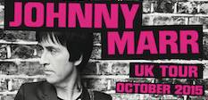 Johnny Marr, UK tour,rock music, Playland,