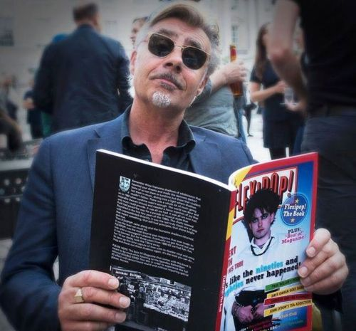 Flexipop, pop music, London, Swinging 80s, books, Glen Matlock