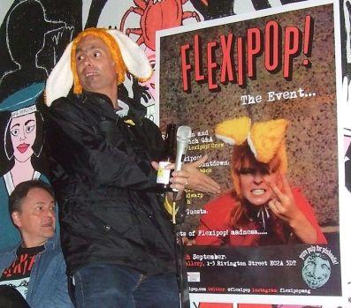 Flexipop, pop music, London, Swinging 80s, books, Toyah