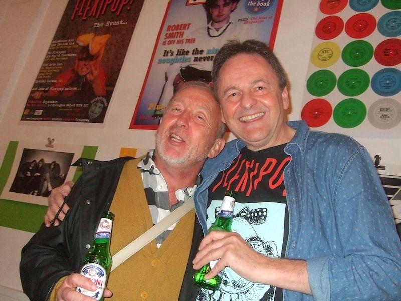 Flexipop, pop music, London, Swinging 80s, books,Barry Cain, Tim Lott, Red Gallery