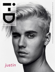 Justin Bieber, i-D magazine, winter,pop, Adele,