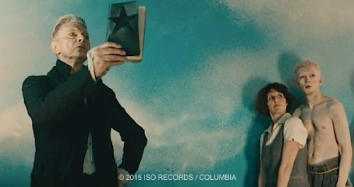 David Bowie, pop music, video, Blackstar, starman, album, Johan Renck