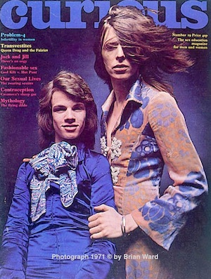 , Freddie Burretti, David Bowie, glam rock, man-dress,gay issues,