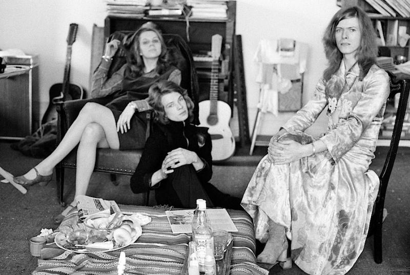 """man-dress"" , Angie Bowie, Freddie Burretti, David Bowie, fashion,"