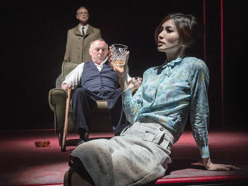Homecoming, Harold Pinter, Gary Kemp, Ron Cook, Jamie Lloyd, Gemma Chan, Trafalgar Studios, interview, theatre, London, reviews