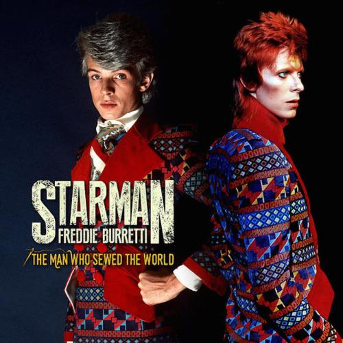 Starman, Freddie Burretti, film, biopic, Lee Scriven, David Bowie, Man Who Sewed The World, glam rock, fashion