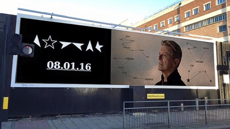 Blackstar , poster, David Bowie, album,
