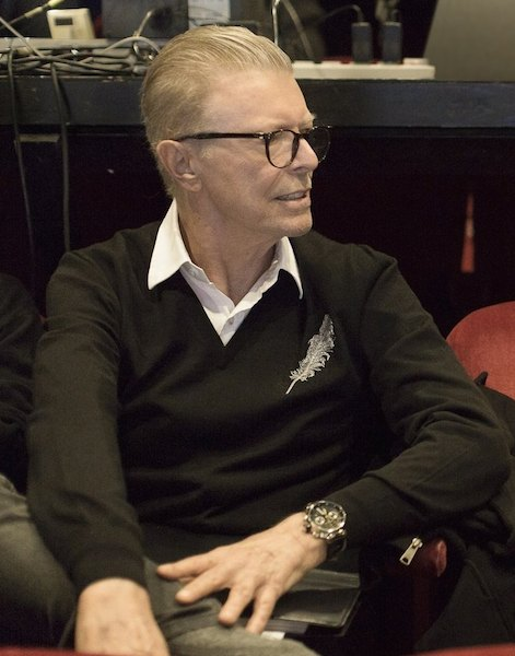 David Bowie, Lazarus, theatre, musicals, New York Theatre Workshop,