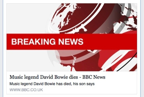 David Bowie, dead, BBC News, breaking news,Duncan Jones, pop music