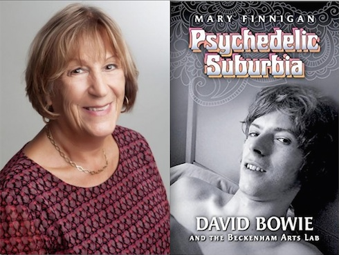 David Bowie , Mary Finnigan, book, pop music, biography, Psychedelic Suburbia, 1969, Space Oddity, Beckenham Arts Lab,