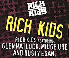 featuring Glen Matlock, Midge Ure ,Paul Cook, Paul Myers,  Ray McVeigh, Rusty Egan,Rich Kids , The Professionals, reunion, May 2016, Shepherds Bush Empire, rock music, concert, tickets,