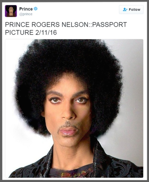 prince rogers nelson, passport